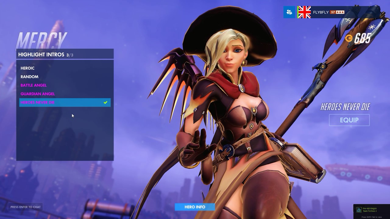 Mercy witch skin