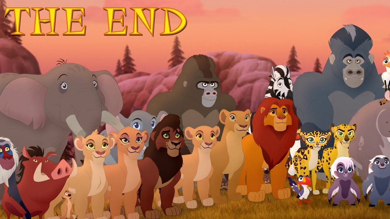 Download Lion Guard: THE END - King Kion & Queen Rani! Return to the Pride Lands Season 3 Clip