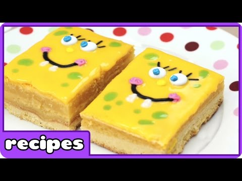 Spongebob Squarepants Lemon Bar Pops | Fun Foods For Kids By HooplaKidz Recipes