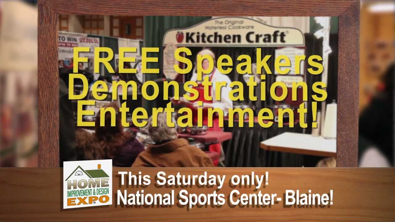 Blaine Home Improvement and Design Expo Spot - YouTube