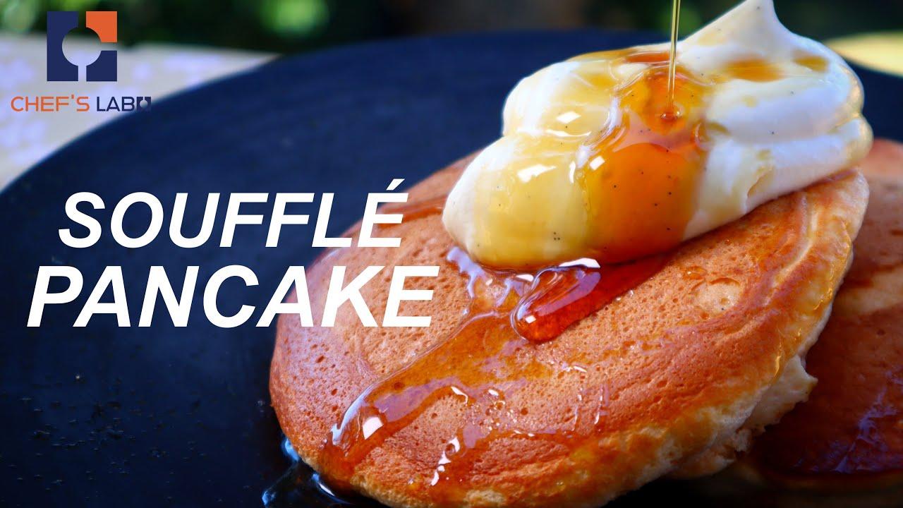 Japanese Soufflé  Pancake Recipe / スフレパンケーキ