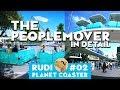 THE PEOPLEMOVER World´s fair DLC - Planet Coaster