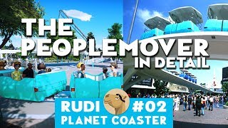 THE PEOPLEMOVER World´s fair DLC - Planet Coaster