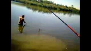 Рыбалка в Краснодарском крае(Новопокровский район водоем Жигулевский., 2013-02-11T11:50:39.000Z)