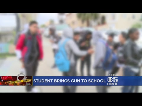 Student Arrested At High School In Oakland With Gun On Campus