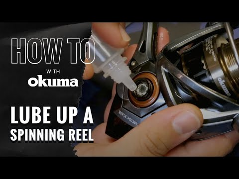 Okuma How To-  Lubricate Your Spinning Reel