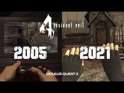 Resident Evil 4 VR -  Evolution Trailer (2005 - 2021)