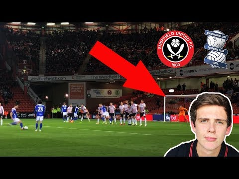 SAVED BY THE POST - Sheffield United v Birmingham City Vlog
