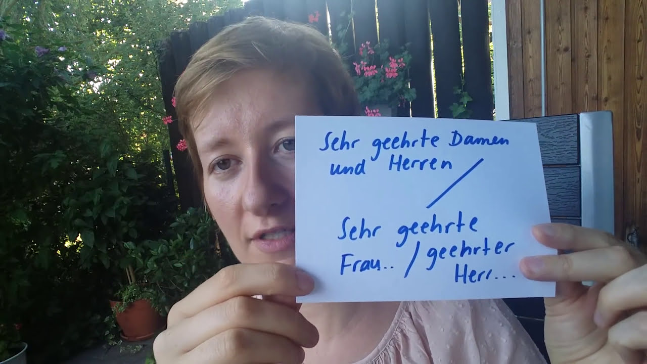 Brief Schreiben Schriftliche Prüfung B2 Telc Deutsch Mit Marija
