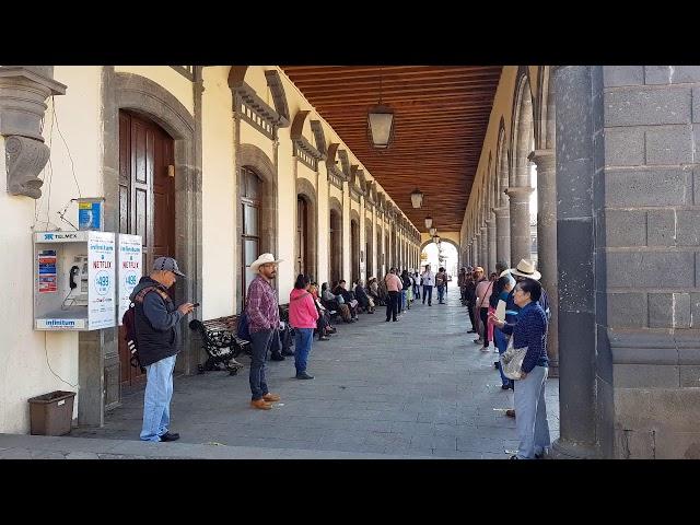 Así están las calles en Zacatlan de las Manzanas Puebla en México en la cuarentena