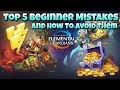 Might and Magic Elemental Guardians - Top 5 Beginner Mistakes To Avoid