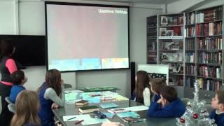 Открытый урок по русскому языку и литературе