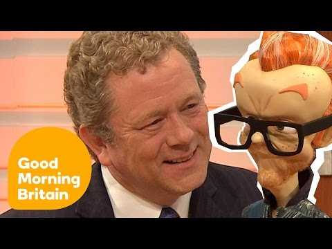 Jon Culshaw Does Chris Evans For The New Series Of Newzoids! | Good Morning Britain