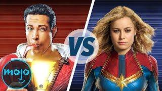 Shazam GEGEN Captain Marvel!