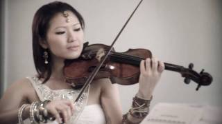 Bollywood Indian Asian wedding music string quartet, bollywood violinist kiki chen
