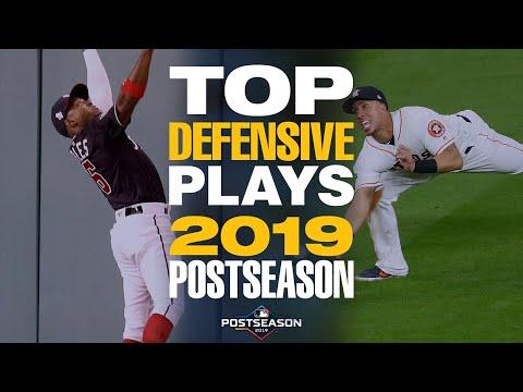 Top 20 Defensive Plays of the 2019 Postseason! | MLB Highlights