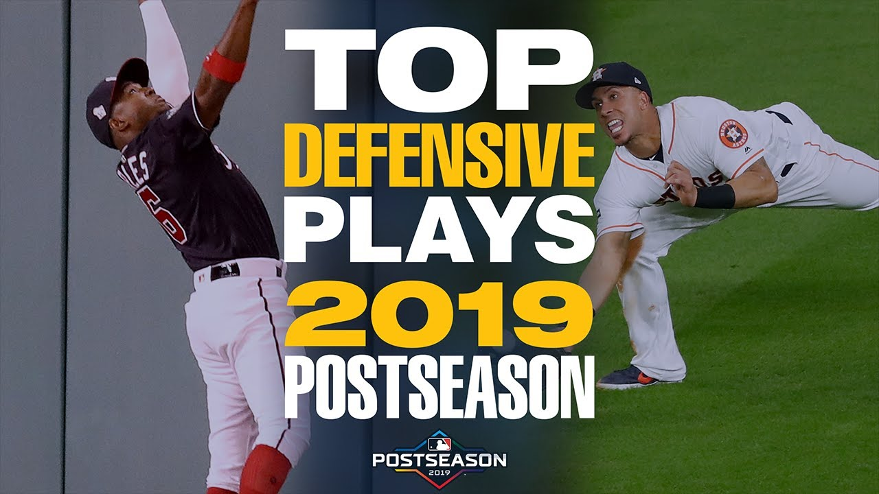 Top 20 Defensive Plays of the 2019 Postseason! | MLB Highlights