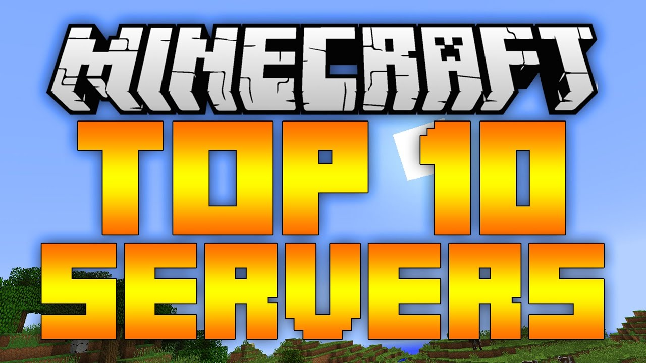 Top 10 Minecraft Servers (Minecraft 1.12/1.11.2) – 2017 [HD]
