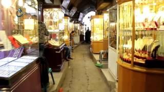 وكالة قاسيون  جولة في أحد أقدم أسواق الذهب بغزة 6-12-2015