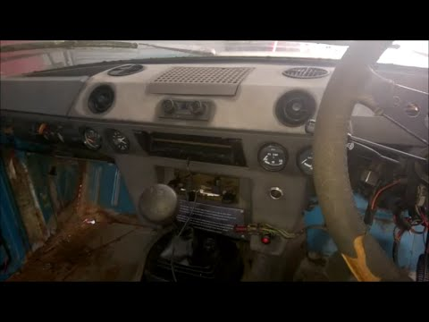 1977 Range Rover Classic 2 Door Part 11 Top Dash Removal