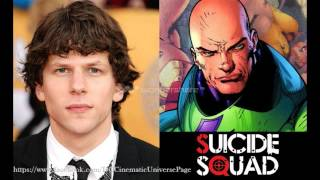 Jessie Eisenberg in Talks for Squad as Lex Luthor (Jay Hernandez Cast in Unknown Role)
