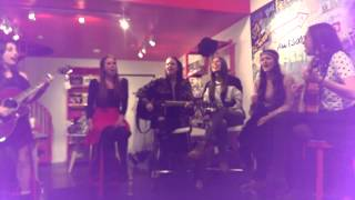 """Cimorelli - """"I Got You"""" at the AwesomenessTV space in LA"""