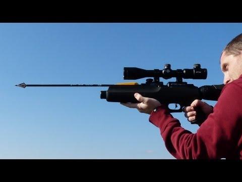 Arrow Airgun in Slow Motion (FX Verminator Extreme MK2)