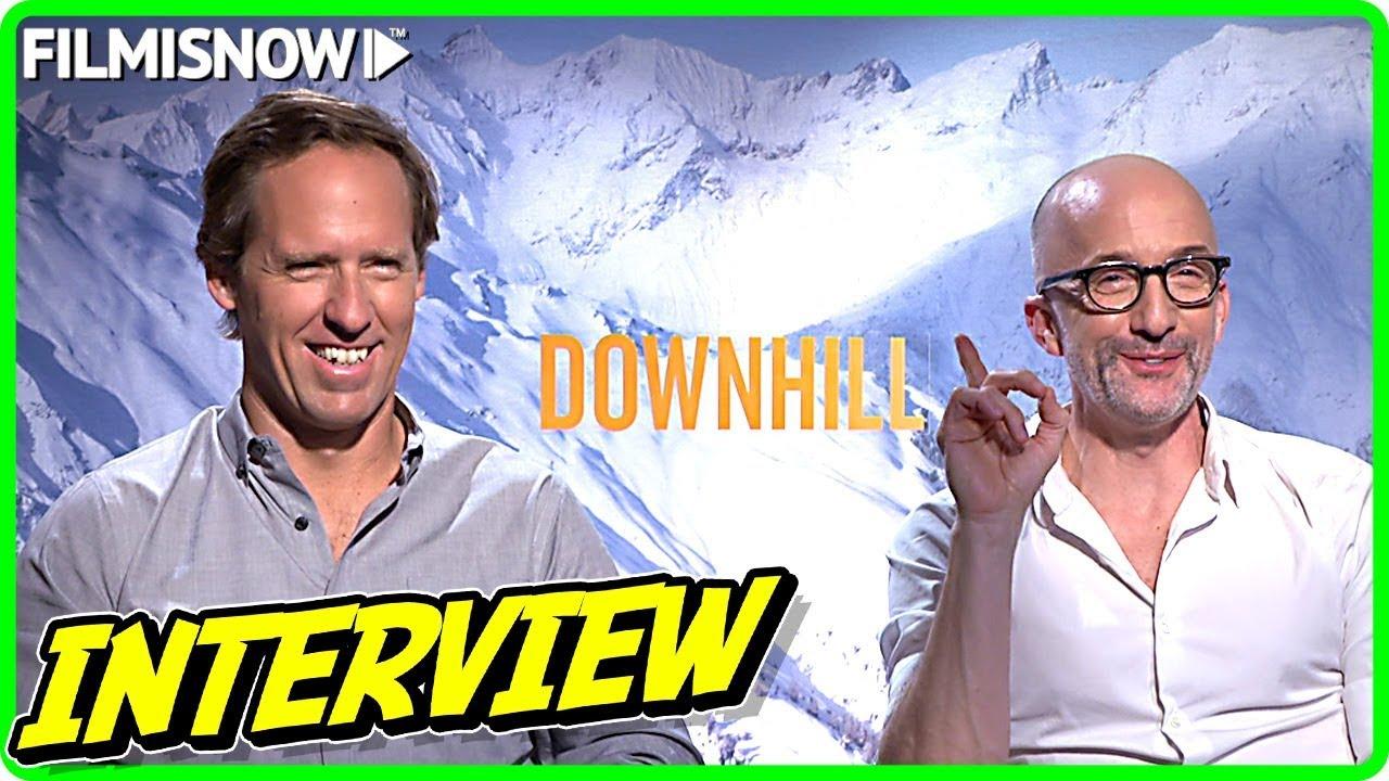 Nat Faxon & Jim Rash Interview for DOWNHILL