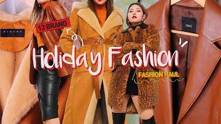 | 패션하울 | 브라운계열 무드있는 겨울패션하울 (스타…