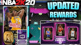 HUGE UPDATE TO TRIPLE THREAT ONLINE REWARDS AND FULL GALAXY OPAL TTO TEAM IN NBA 2K20 MYTEAM