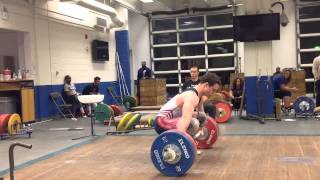 166 snatch (unofficial jr american record)
