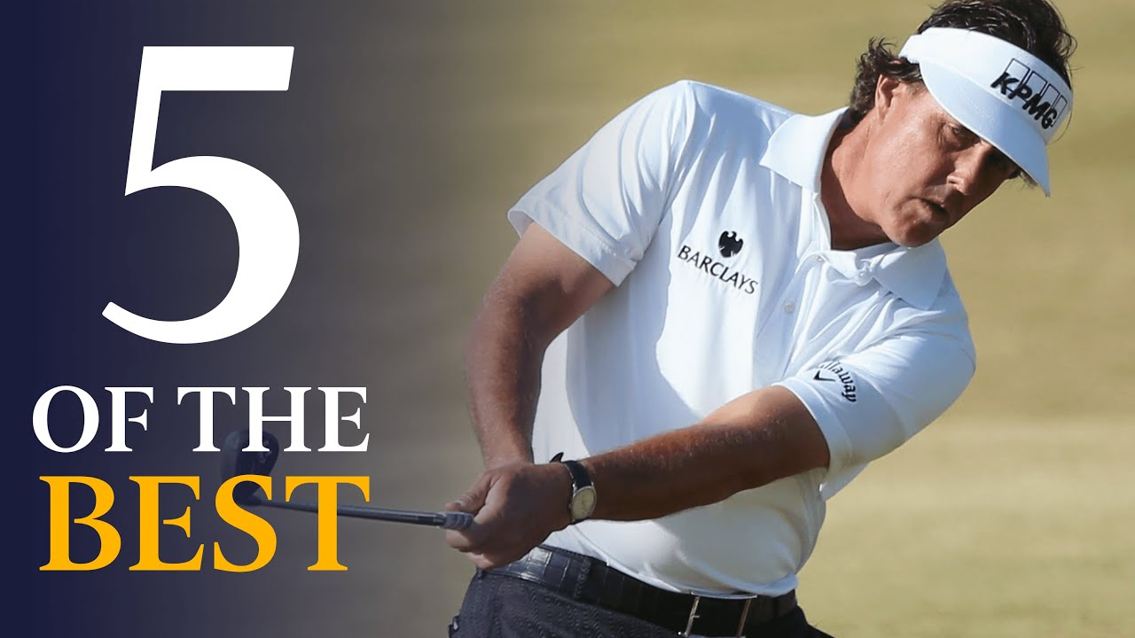 Phil Mickelson | Five Of The Best Open Shots