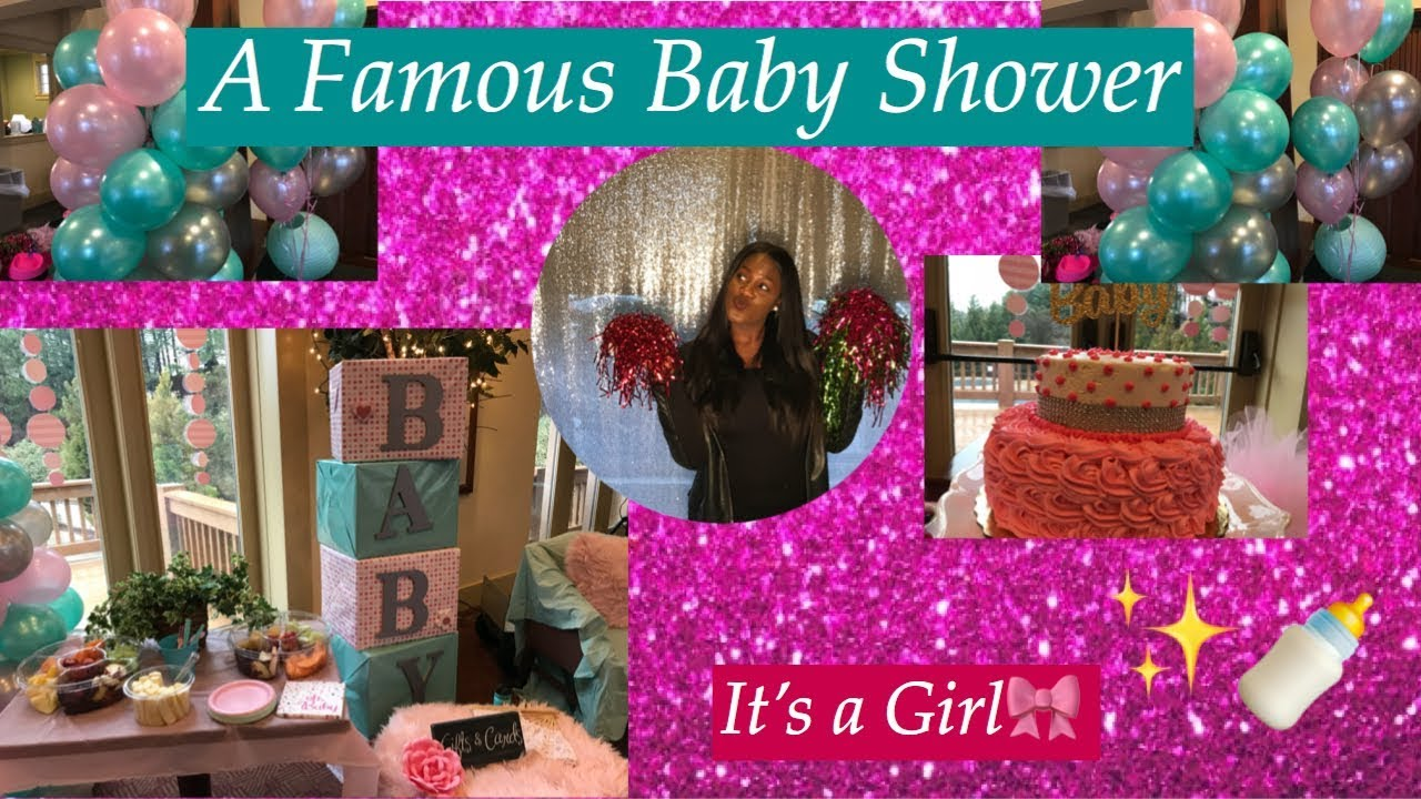 A Famous Baby Shower ft. Phaedra Parks