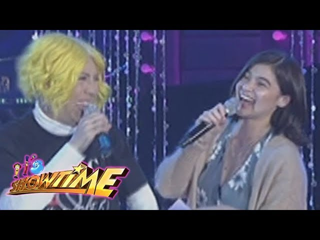 It's Showtime Miss Q & A: Vice Ganda's wish for Anne Curtis' wedding