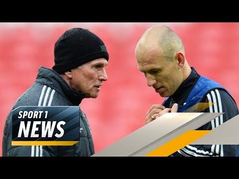 Robben will, dass Heynckes Bayern-Trainer bleibt | SPORT1