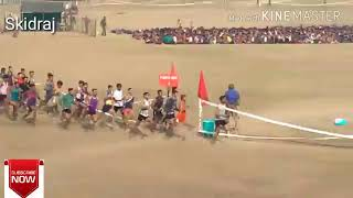 1600 mtr Army Rally Record Running 4:44