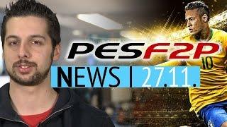 PES 2016 kommt als Free2Play-Spiel - Erste Bilder aus System-Shock-Remake - News