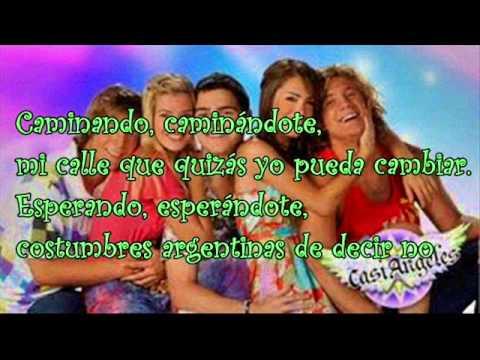 Costumbres argentinas- Teen Angels- Letra