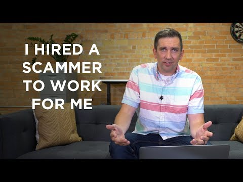 I Hired A Scammer To Work For Me! | A Scam Story #5