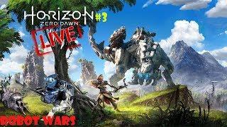 Horizon Zero Dawn Live - PLAYSTATION WEEK - Robot Wars At The Proving Machines Must Die