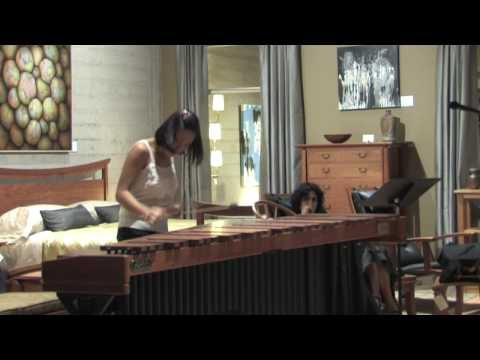 Camerata Pacifica — SpeakEasy with Ji-Hye Jung. Bach Fugue from BWV 1001 arr. for Marimba