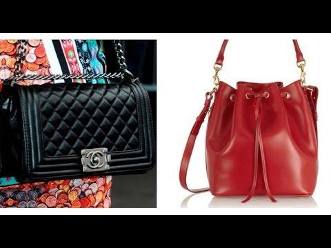 8 tipos de bolsos que no pasan de moda.