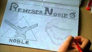 Remember Noble 6 | Time Lapse | Pencil | GreenFlameGFX