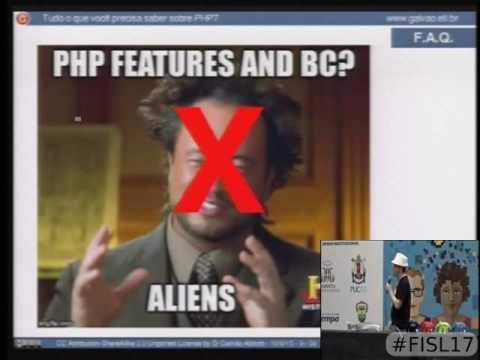 Fisl 17 - Tudo o que você precisa saber sobre o php7