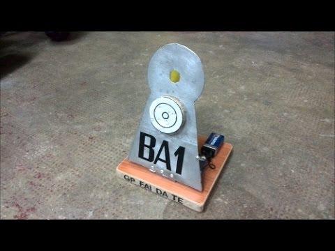 Tutorial bersaglio acustico per armi ad aria compressa - Acoustic target - Fa...