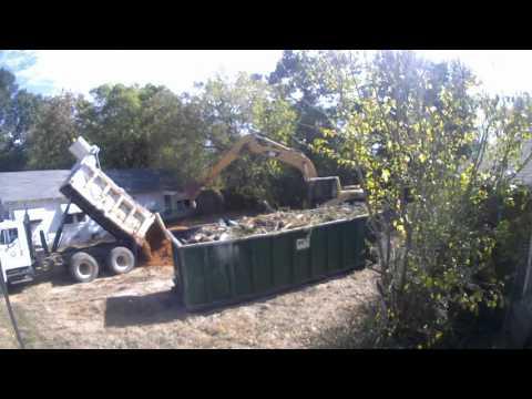 City of Texarkana, Texas Demolishes Substandard Structure