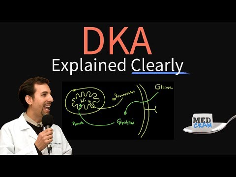 Diabetic Ketoacidosis (DKA) Explained Clearly by MedCram.com