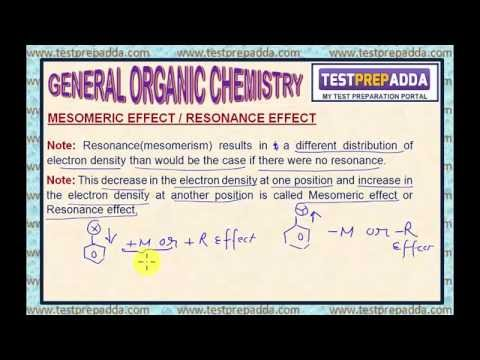GENERAL ORGANIC CHEMISTRY (G.O.C) - Lesson  8