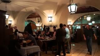Тест видео Sony A7 Достопримечательности Мюнхена пивной ресторан Хофбройхауc(, 2014-04-07T08:07:49.000Z)