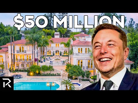 What Elon Musk Does With All His Money (Compilation)